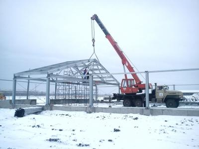 строительство птицефабрики